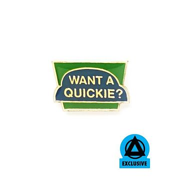 Want A Quickie? Vintage Pin