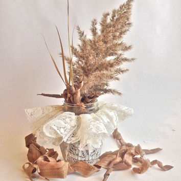Rustic wedding Decor, country wedding centerpiece, outdoor wedding wood shavings