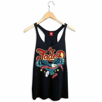 WOMENS LIVE FREE AND HIGH RACERBACK