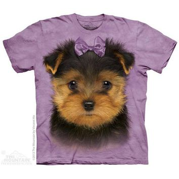 New YORKSHIRE TERRIER PUPPY YOUTH CHILD  T SHIRT -