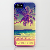Summertime - for iphone iPhone & iPod Case by Simone Morana Cyla