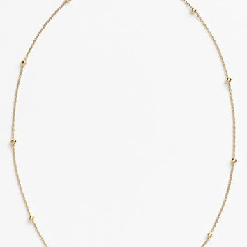 Women's Argento Vivo Station Necklace