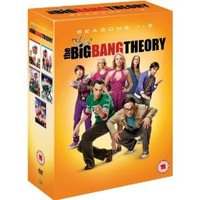 The Big Bang Theory - Complete Season 1-5 [DVD]: Amazon.co.uk: Johnny Galecki, Jim Parsons, Kaley Cuoco, Simon Helberg: Film & TV