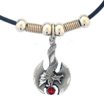Earth Spirit Necklace - Battle Ax