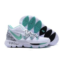 """Nike Kyrie 5 """"Unveiled"""" PE White/Mint Green-Black Men Shoes - Best Deal Online"""