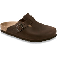 Birkenstock Classic, Boston, Narrow Fit, Oiled Leather, Habana