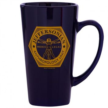 Bones Jeffersonian Latte Mug