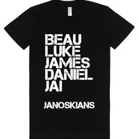 janoskians-Female Black T-Shirt
