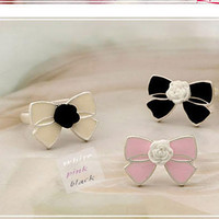 Shiny Jewelry New Arrival Gift Stylish Korean Accessory Butterfly Floral Ring [6586194503]