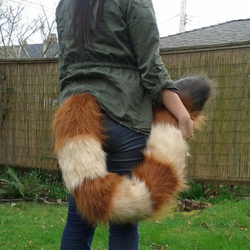 Red Panda Floor Dragging Costume Tail