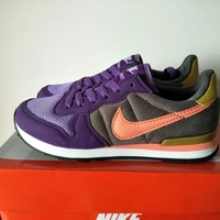 """Nike Internationalist"" Women Retro Casual Multicolor Sneakers Running Shoes"