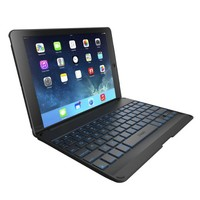 ZAGG Folio Case with Backlit Bluetooth Keyboard  for iPad Air-Black
