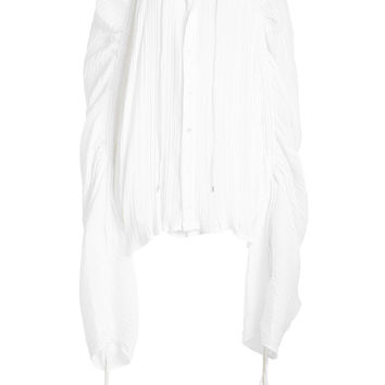 Voile Blouse with Drawstring Ties - Y/Project | WOMEN | KR STYLEBOP.COM