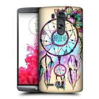Head Case Designs Dreamcatcher Trend Mix Protective Snap-on Hard Back Case Cover for LG G3 D855 D850