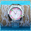 Lilly Pulitzer Inspired Monogram Watch FREE S&H