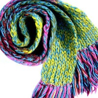Sweet Dreams Are Made Of This-Handknit Scarf