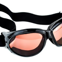 Large Red Lens Motorcycle Goggles Protective Riding Sunglasses