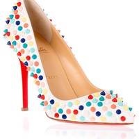 Pigalle 100 spikes pump <strong>Christian Louboutin</strong> - Designer Shoes at ShopSavannahs.com