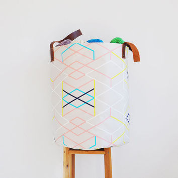Geometric XXL Hamper