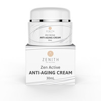 ZEN ACTIVE Anti Aging Cream, best anti aging cream, anti aging moisturizer, treatment for fine lines and wrinkles, anti wrinkle cream vitamin C and hyaluronic acid, clinically proven results