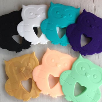 Silicone Baby Teether   Owl
