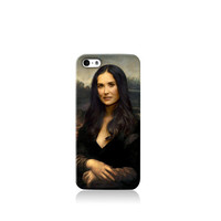 Demi Moore as Mona Lisa iPhone case, Galaxy S3 Case, iPhone 6 case, iPhone 4 case iPhone 4s case, iPhone 5 case 5s case and 5c case