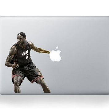 Basketball Mac Decal Macbook Stickers Macbook Decals Apple Decal for Macbook Pro / Macbook air / iPad / iPad mini