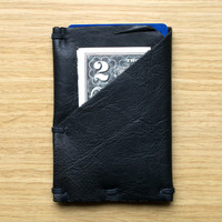 Weekend Wallet | Mens Leather Hand Stitched Minimal Slim