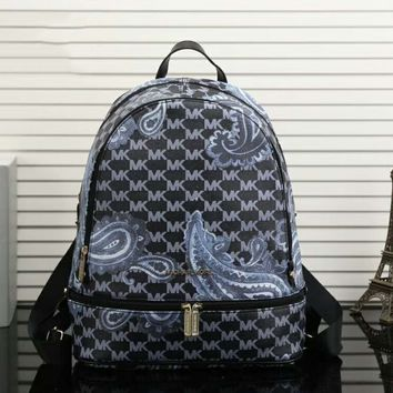 LV Louis Vuitton Cute Pattern Leather Travel Bag Backpack G-LLBPFSH