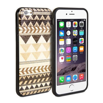 Snap Cover Coated (Tribal Pattern) for iPhone 6