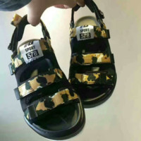 New Balance Fashion Camouflage Casual Caravan Multi Sandals  G-AHXF