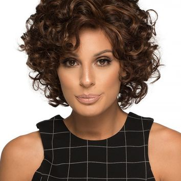 Macey   Human Hair/ Synthetic Blend Wig (Mono Top)