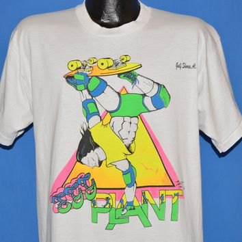 80s Skateboard Egg Plant Alabama t-shirt Extra Large