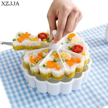 XZJJA Creative Children Rice Ball Sushi Tools Kitchen Supplies Baking Cake Mold