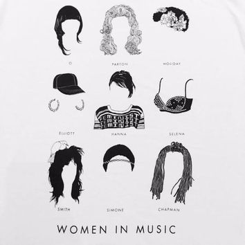 Women In Music Adult Tees
