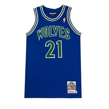 Mitchell & Ness Authentic Nba Jersey - Minnesota Timberwolves - Kevin Garnett - Beauty Ticks