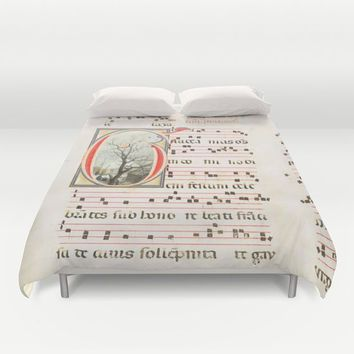 Marking Time Duvet Cover by anipani