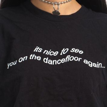 Vintage Y2K Dance It Out Tee - One Size Fits Many