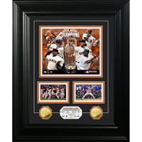 San Francisco Giants 2014 World Series Champions inMarqueein Gold Coin Photo Mint