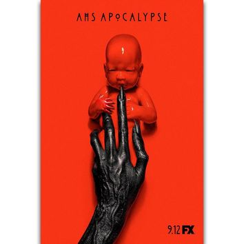 S2659 American Horror Story Apocalypse Season 8 Hot TV Series Show Wall Art Painting Print On Silk Canvas Poster Home Decoration
