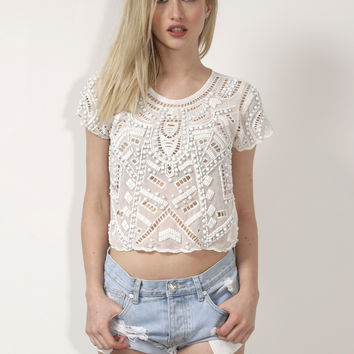 Lovers + Friends Daycation Crop Top