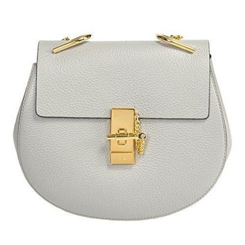 Chloe Women's Drew Shoulder Bag Grey Medium