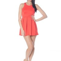 Racerback Scuba Dress - Coral from Casual & Day at Lucky 21 Lucky 21