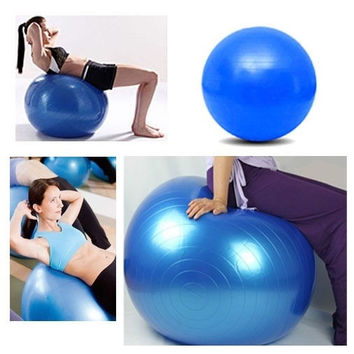 85CM Body Aerobics Pilates Yoga Ball Exercise Home Gym Swiss Fitness Ball With One Free Pump #LCMQStore = 1933294852