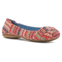 Rocket Dog Raylan Flat | Women's - Natural Cotton - FREE SHIPPING at OnlineShoes.com
