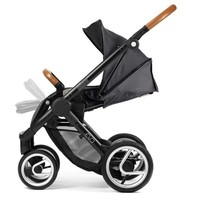 Mutsy Evo Urban Nomad Stroller in Black/Dark Grey