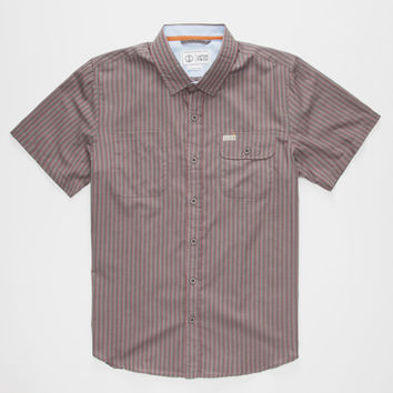 Captain Fin Le Duche Mens Shirt Charcoal  In Sizes