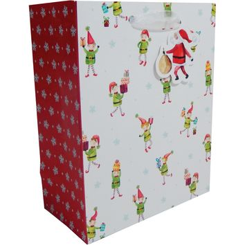 Jillson & Roberts Small Gift Bags, Happy Helpers (30 Pieces)