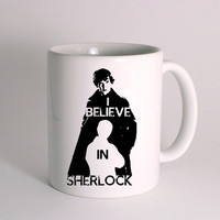 I Believe in Sherlock for Mug Design