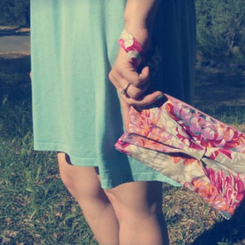 Floral Love Clutch